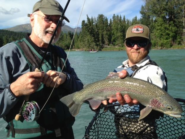 River report kenai river fly fishing guided alaska fly for Kenai river fish counts