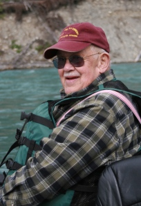 Darwin Peterson Founder of Kenai River Fly Fishing Legend
